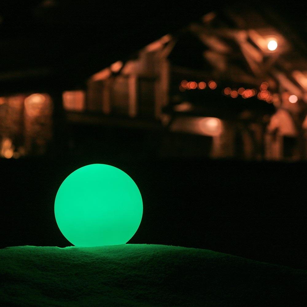 Akku LED-Kugellampe Globe 50cm mit App-Steuerung 1
