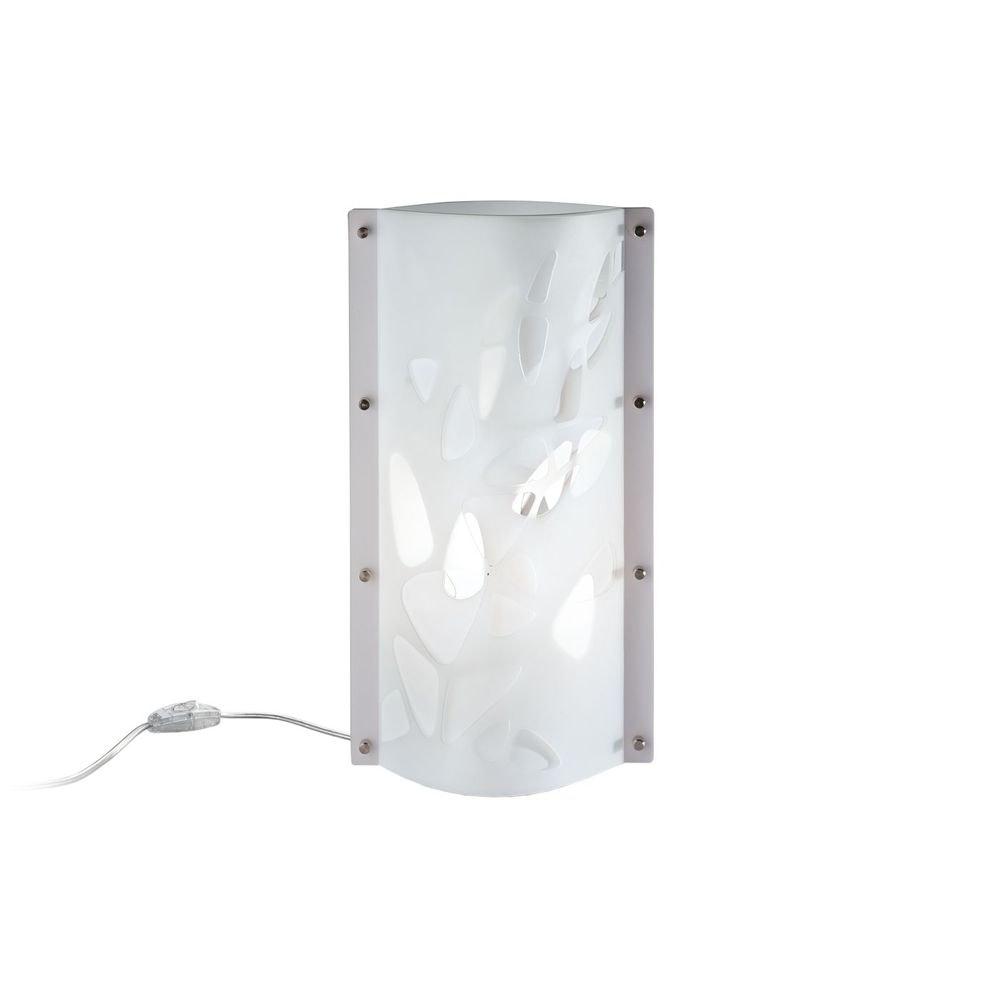 Slamp Tischlampe Bios Weiß/Transparent