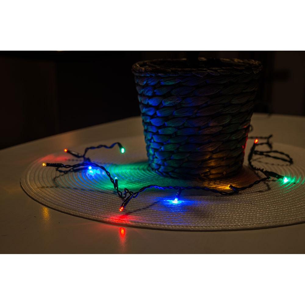 Micro LED Lichterkette verschweißt 50 bunte Dioden 3