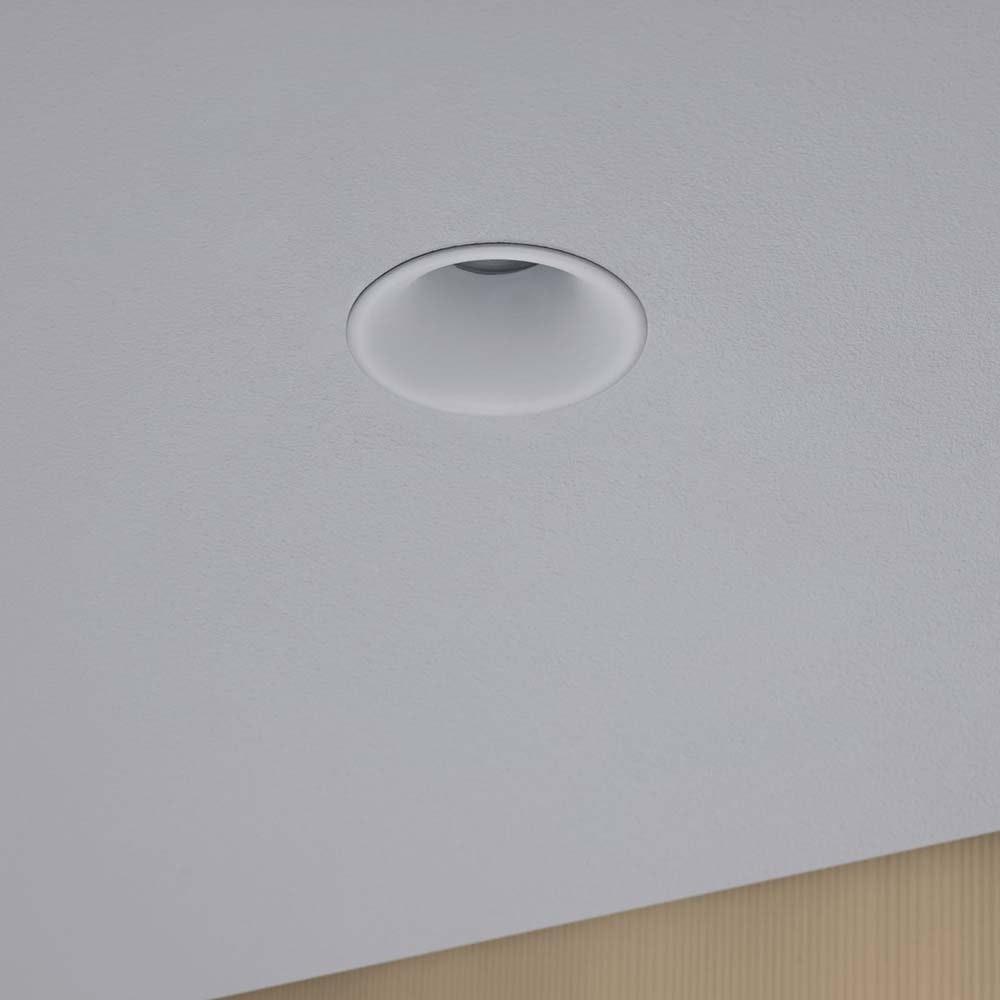 3er-Set LED Einbaulampen Cymbal Coin Warmdimmfunktion IP44 Weiß 5