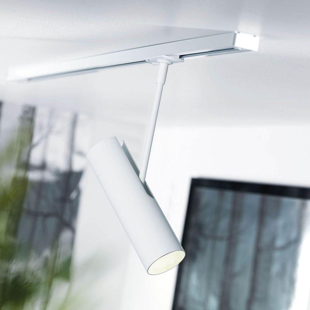 Nordlux MIB 6 Spot + Adapter für Link Schienensystem Weiß 1
