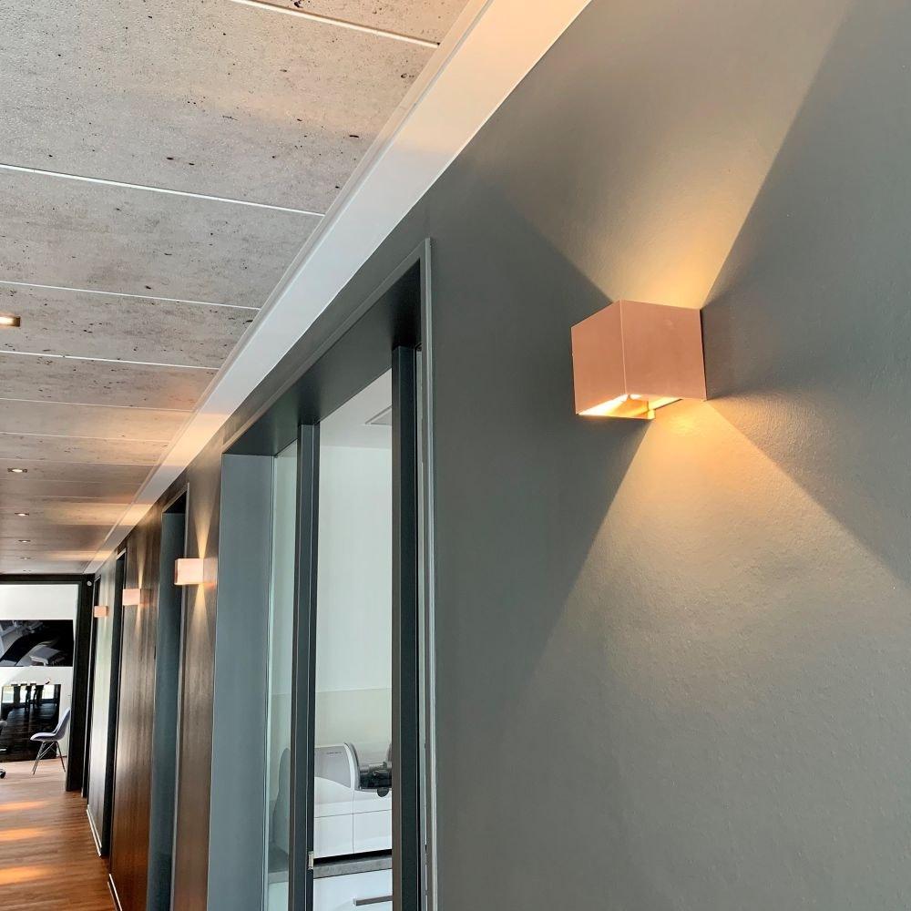 s.LUCE pro Ixa LED Innen- & Außen-Wandleuchte IP44 33