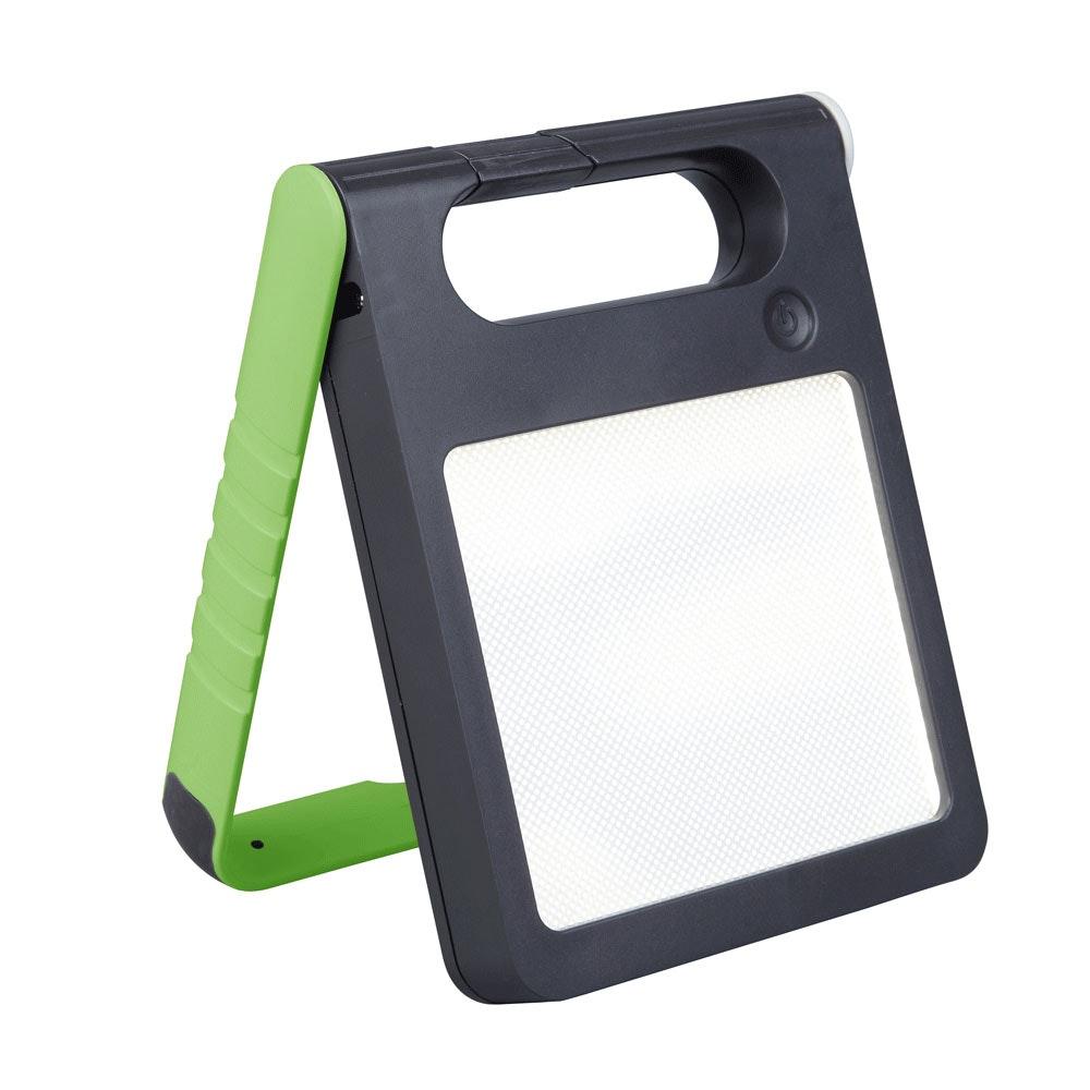 Mobile LED Solarlampe Padlight IP44 Grün