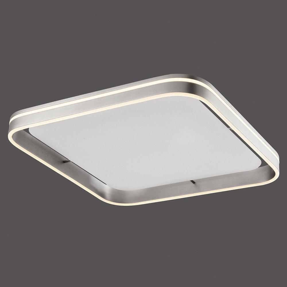 LED Deckenleuchte Q-Vito 59x59cm CCT Stahl 2