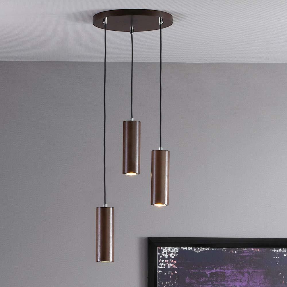 LED Pendellampe Pipe 350lm Nuss 1