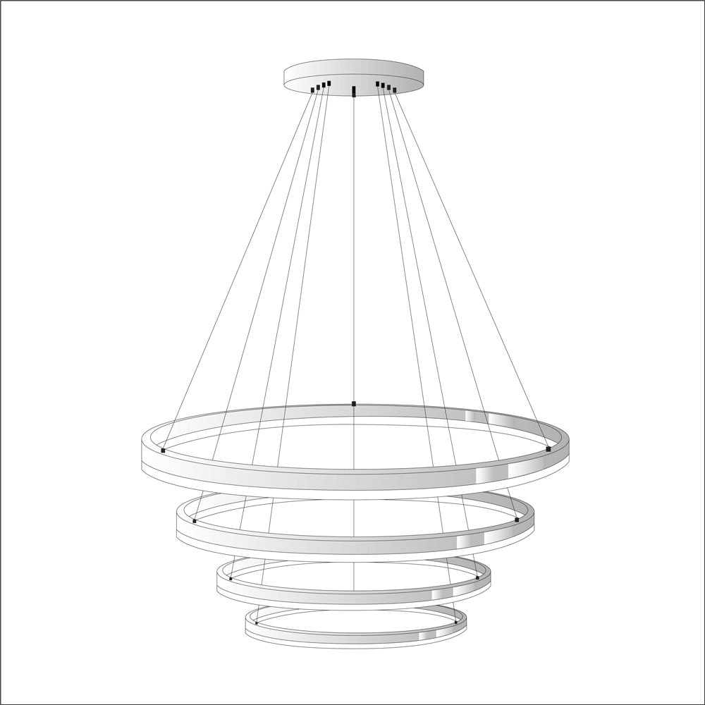 s.LUCE Ring Umbau zentrisch / exzentrisch (ohne LED-Ringe) 23