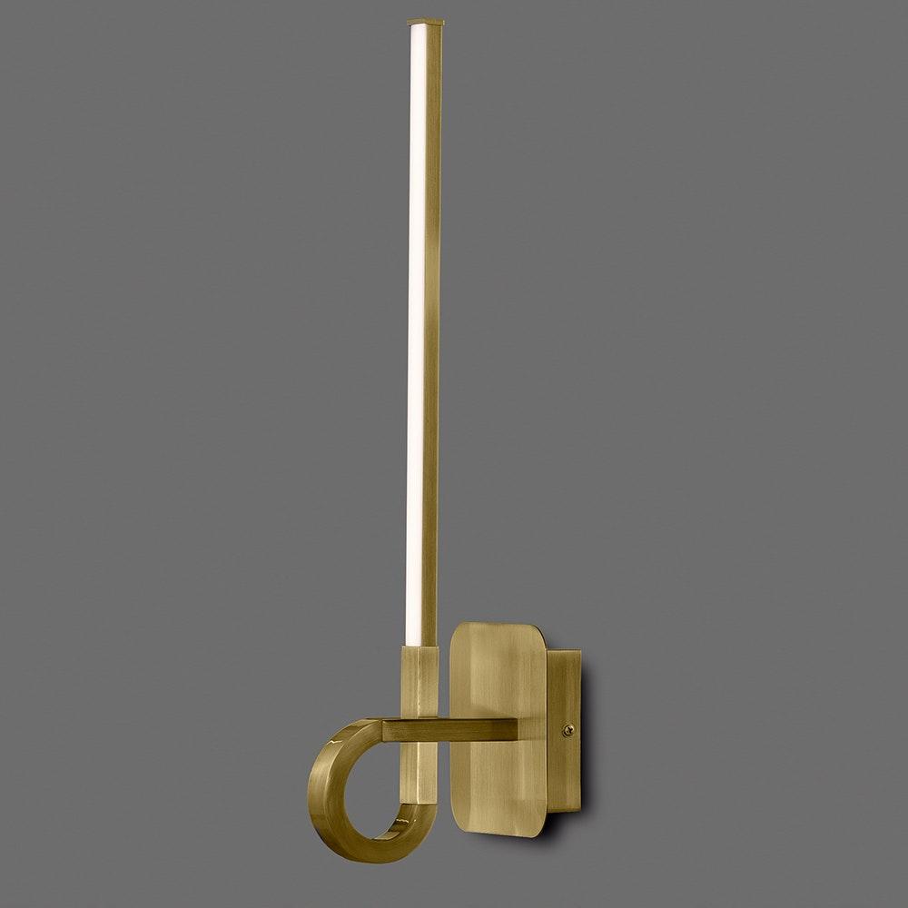 Mantra LED-Wandleuchte kurz Cinto 1