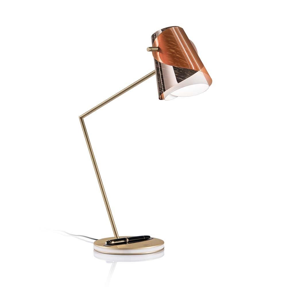 Slamp LED Schreibtischlampe Overlay & Montblanc Meisterstück Le Grand 2