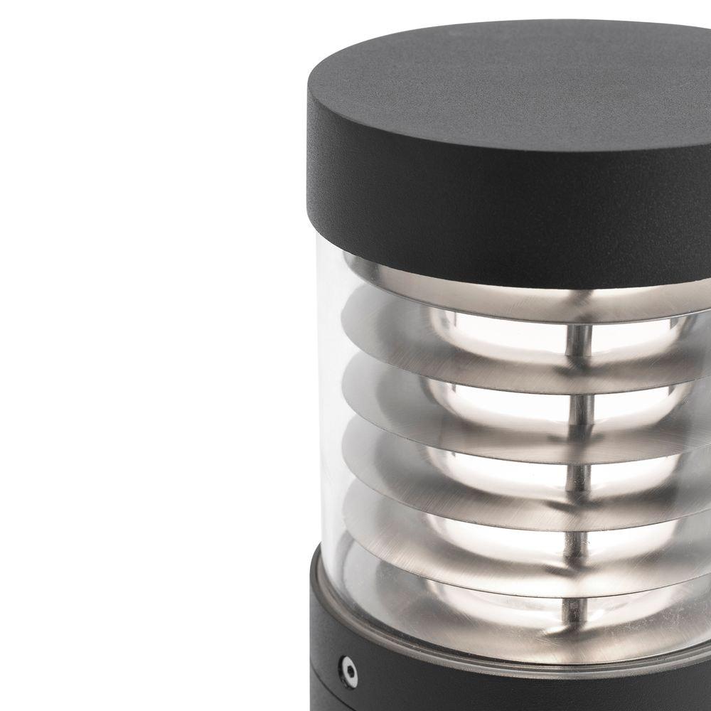 LED Pollerleuchte GIZA 12W 3000K IP54 Dunkelgrau 2