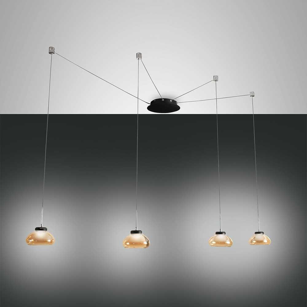 Fabas Luce Arabella LED Pendellampe Metall 6