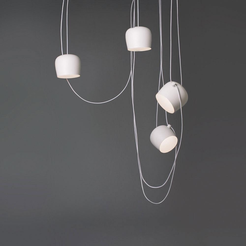 FLOS Aim small mehrfach LED-Pendelleuchte 8