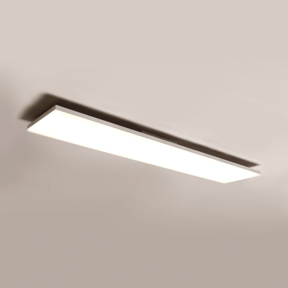 Q-Flat 2.0 rahmenlose LED Deckenaufpanel 120 x 30cm 3000K