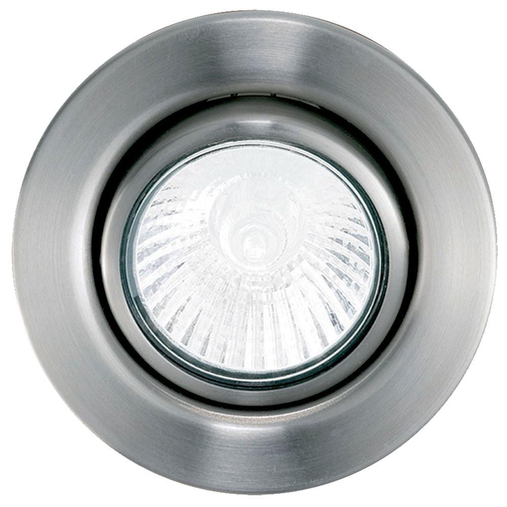 Einbauspot GU10 Einbauleuchte Ø 8,5cm Nickel-Matt