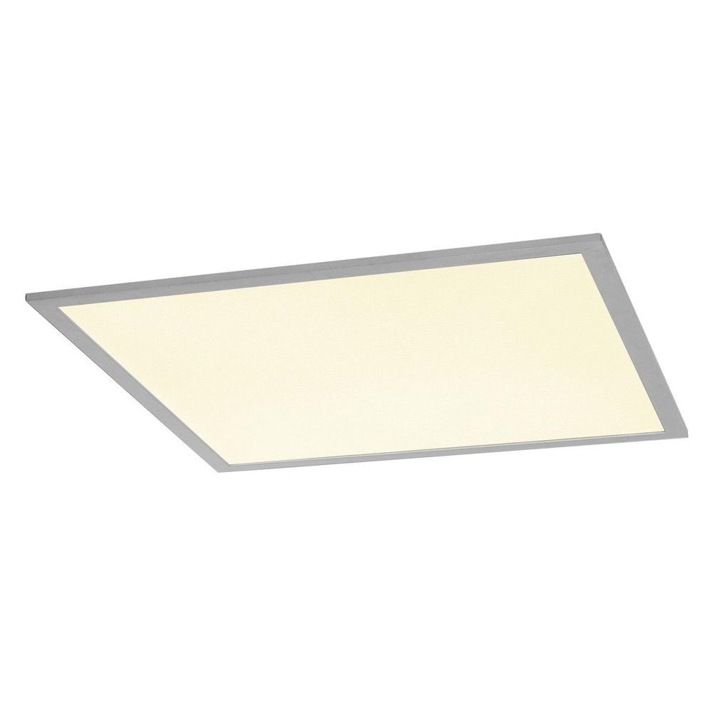 SLV I-Vidual Premium LED Panel für Rasterdecken 60x60cm 4000K Silber 1