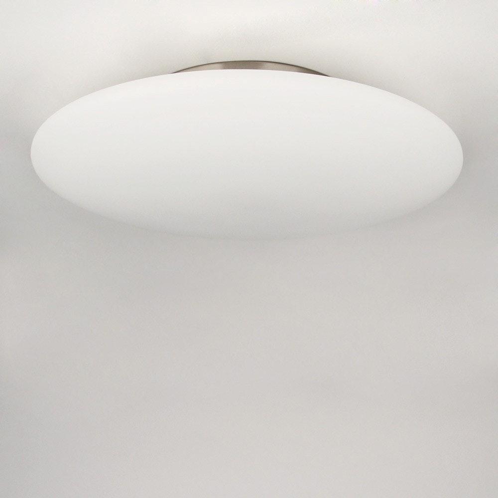 s.LUCE Pane 45 puristische Glas Decken-& Wandleuchte Weiß 5