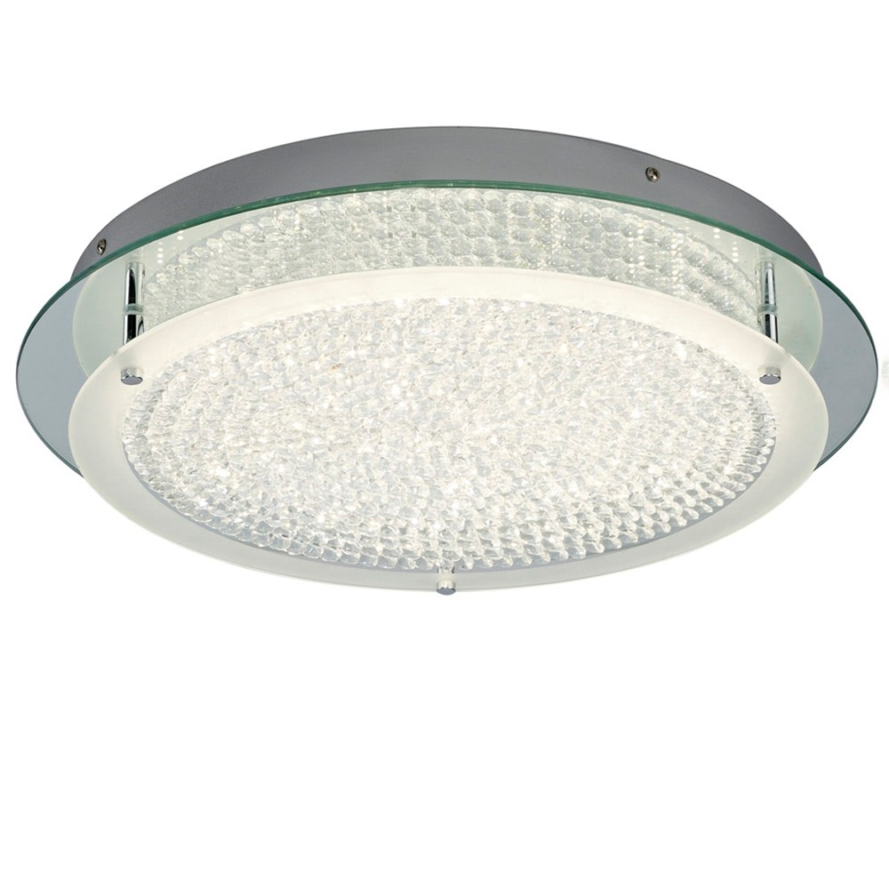 Mantra Crystal LED Mirror runde Deckenlampe 3