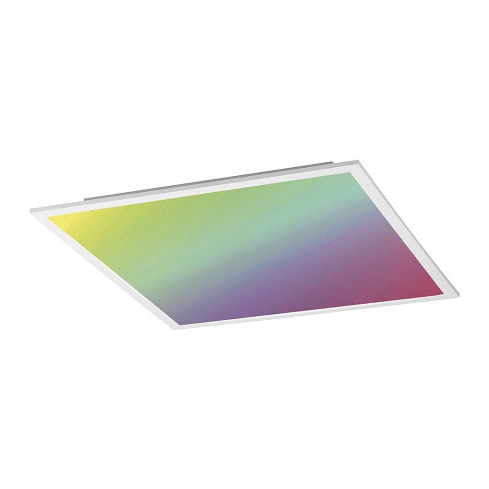 Q-Flat 45 x 45cm LED Deckenleuchte RGBW + Fb. Weiß 1