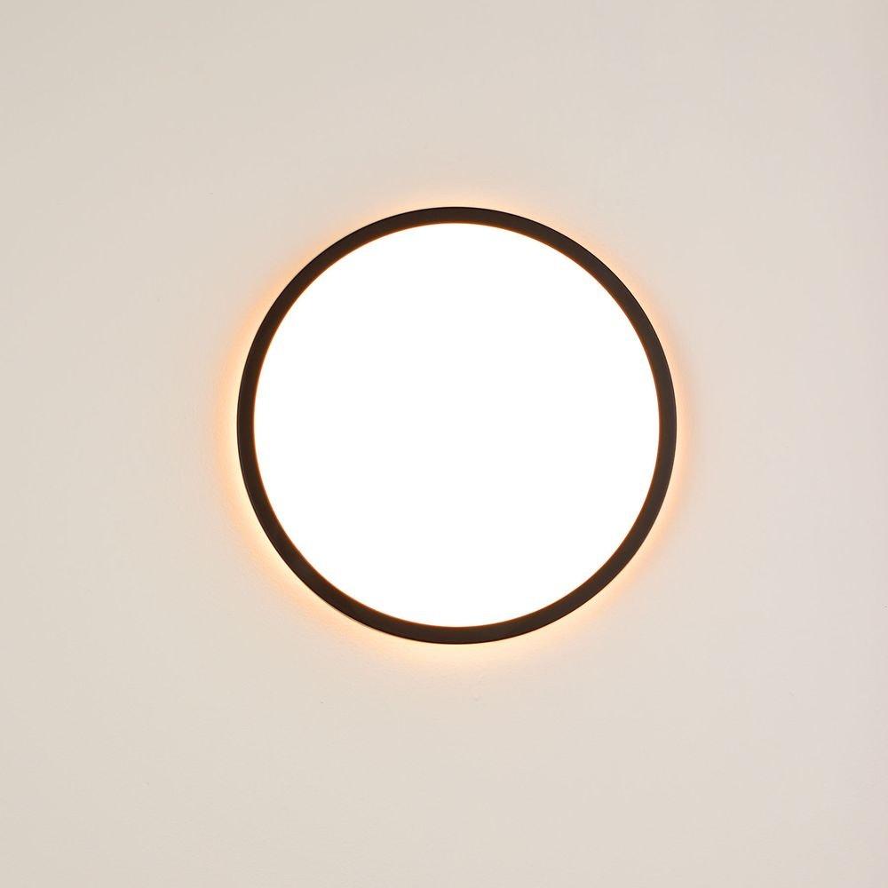 s.LUCE Disk 35cm LED Deckenleuchte warmweiß dimmbar 24