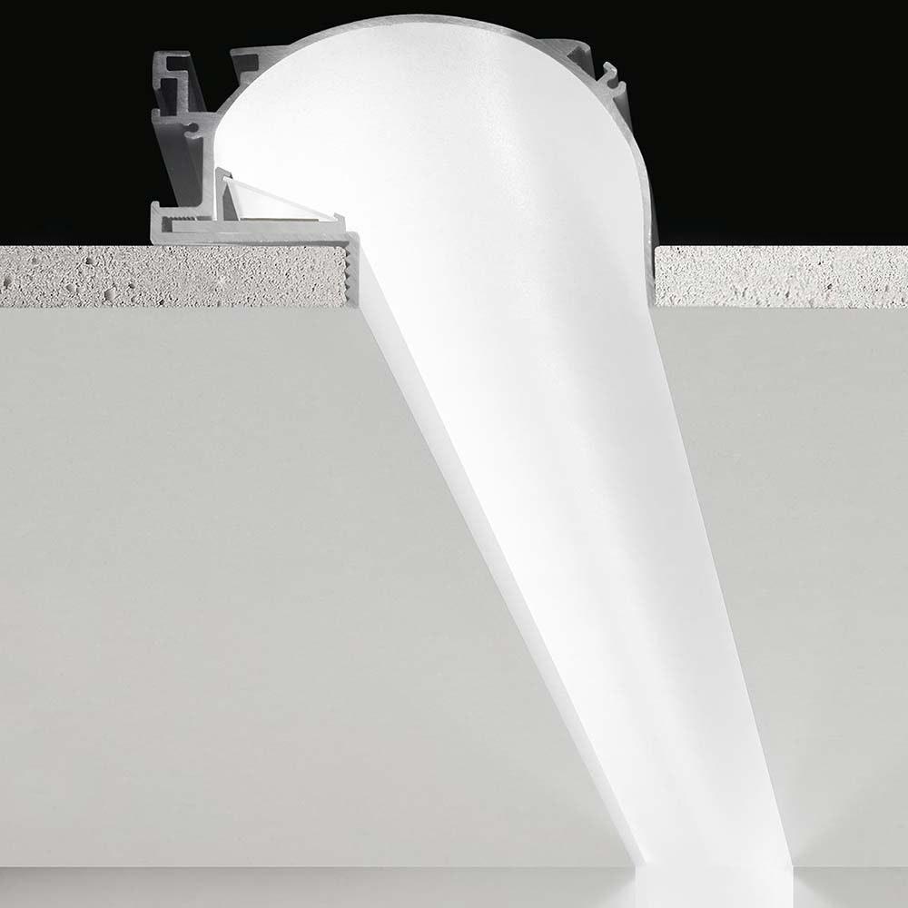Panzeri Manhattan Einbauprofil für LED-Strips thumbnail 3