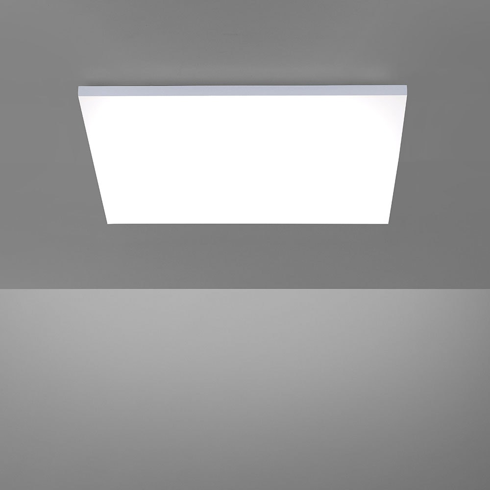 Q-Flat 2.0 rahmenlose LED Deckenlampe 62 x 62cm CCT + FB Weiß thumbnail 6