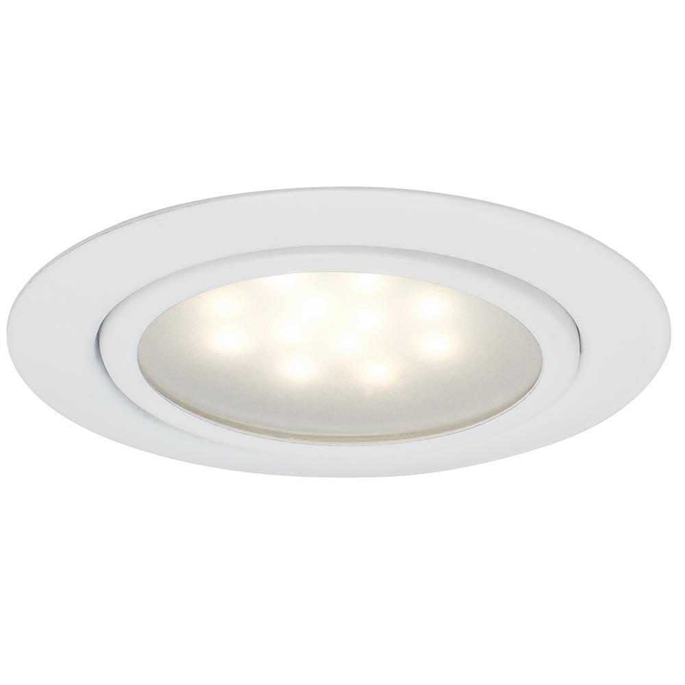 Möbel EBL Set LED 3x1W 12VA 12V 65mm Weiß