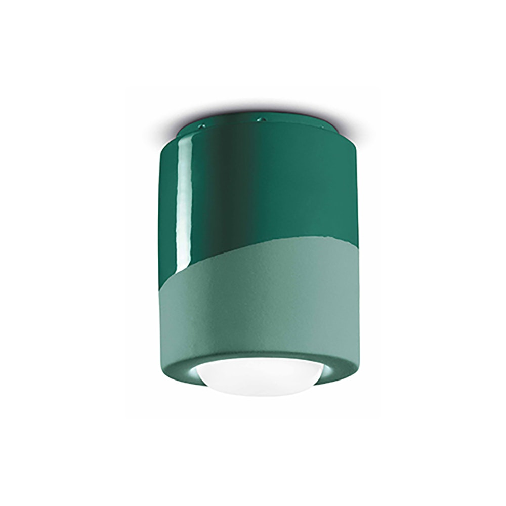 Ferroluce Pi Deckenlampe Ø 12,5cm 1