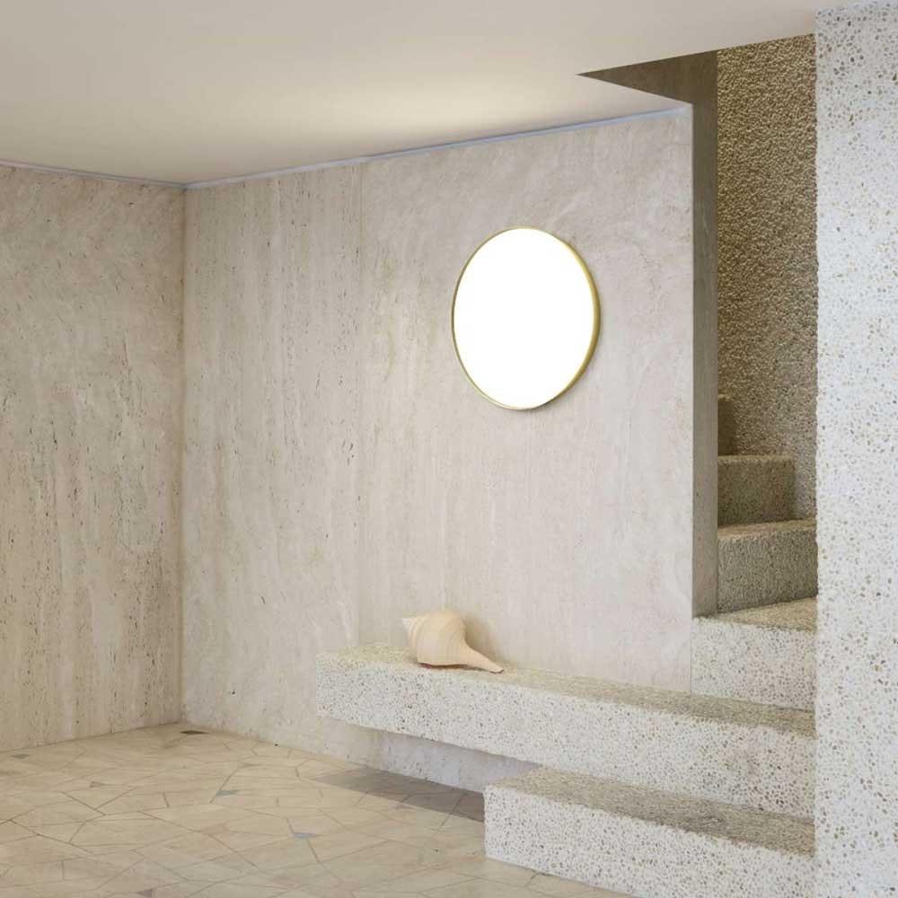 Luceplan LED Wand- & Deckenlampe Compendium Plate Ø 56cm 2