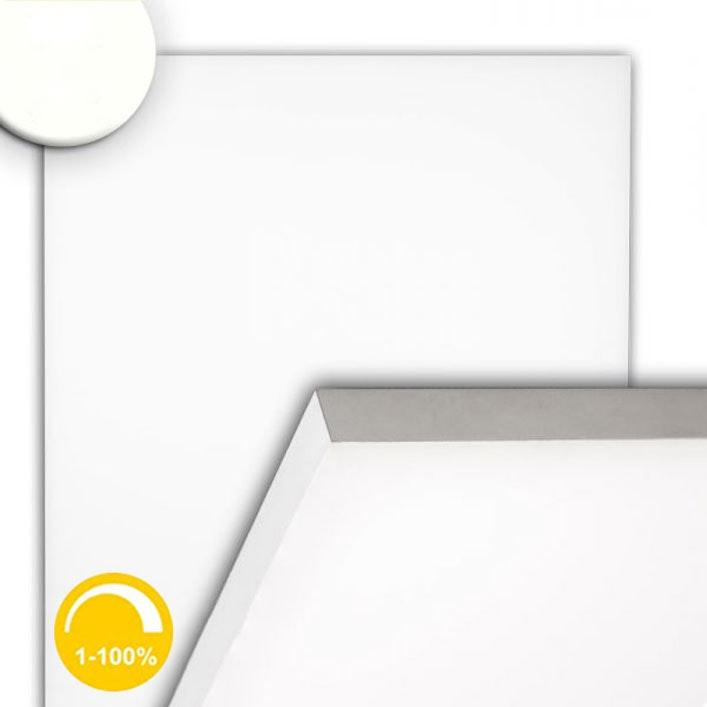 LED Panel rahmenlos 600 Neutralweiß dimmbar 5100lm Weiß 1
