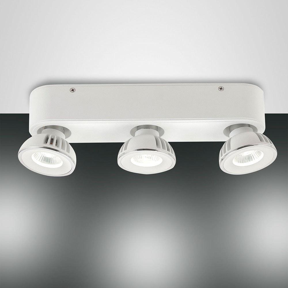 Soul LED 3er-Spot mit schwenkbaren Strahlerköpfen 2200lm Weiß 1