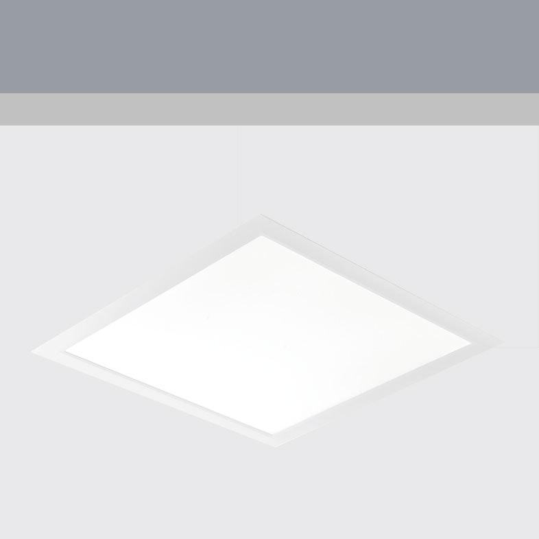 Kiteo K-Aera Flat Leuchte PI-LED ZigBee 3.0 59,5 x 59,5cm 1