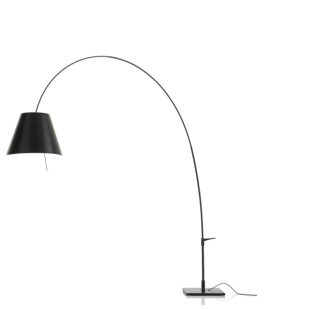 Luceplan Lady Costanza Bogenlampe mit Dimmer 1