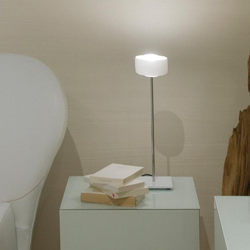 Oligo LED Tischleuchte mit Touchsensor Grace Weiß 2