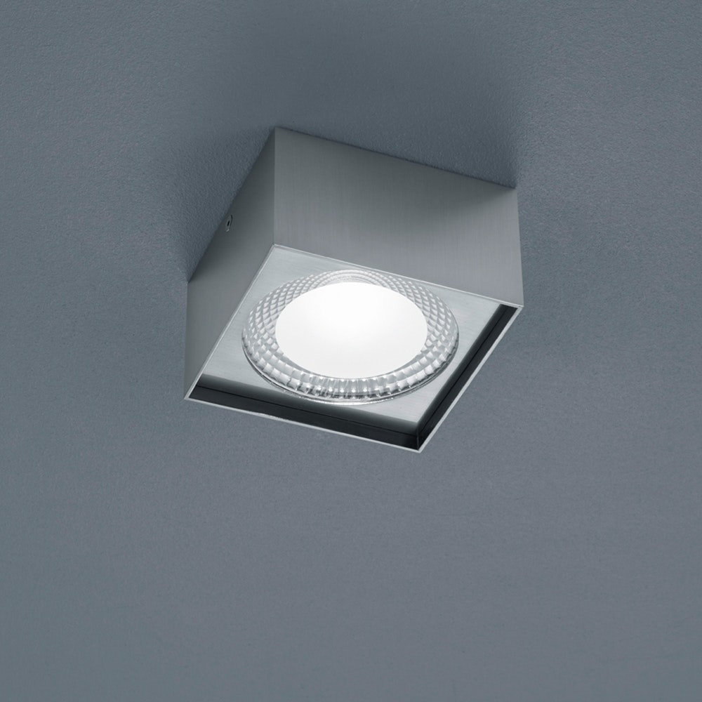 Helestra LED Deckenleuchte Kari Nickel-Matt 1