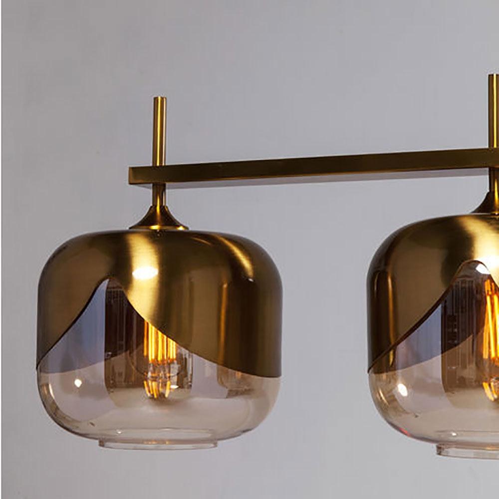 KARE Glamuröse Hängeleuchte Goblet Quattro Gold 3