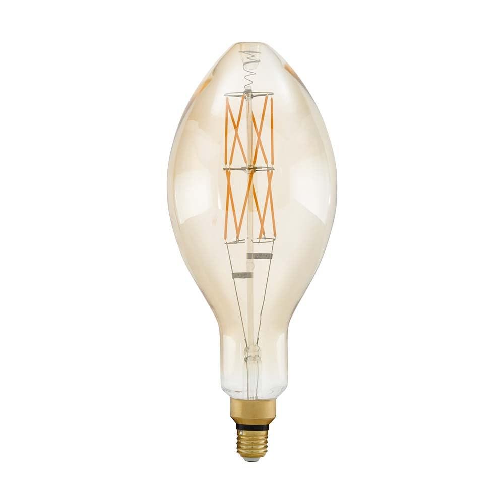 E27 XXL Vintage LED 40cm Kerze Dimmbar 806lm Extra Warmweiß 2
