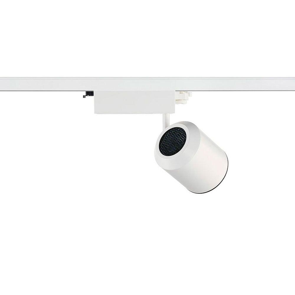 SLV Supros Track 4000 LED Spot inkl. 3P.-Adapter 3150lm 3000K Weiß 2