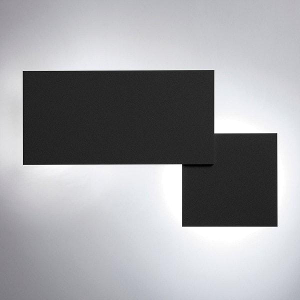 Studio Italia Design Puzzle Double eckig 48cm LED Wand- & Deckenleuchte thumbnail 5