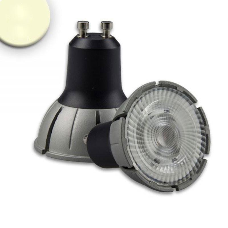 GU10 LED-Leuchtmittel 7W Vollspektrum 480lm 36° 3000K dimmbar CRI98 1