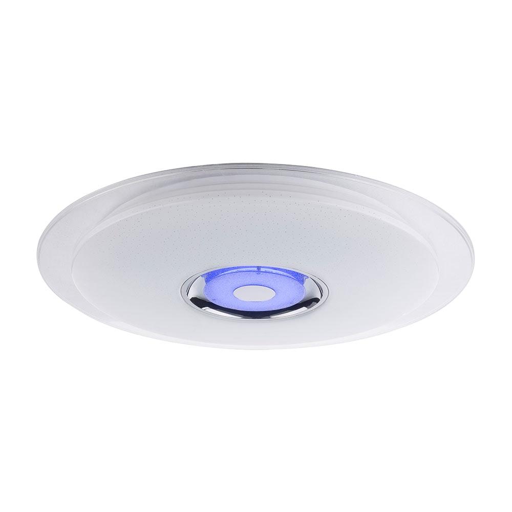 LED Deckenleuchte Tune Sparkle Decor Lautsprecher CCT APP Weiß, Opal, Klar 7