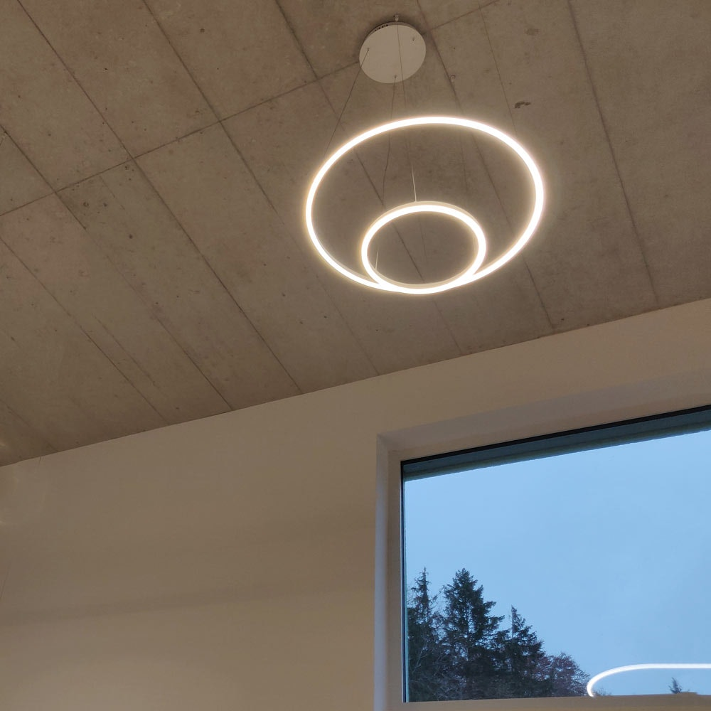 s.LUCE Ring 40 direkt oder indirekt LED Hängeleuchte 2