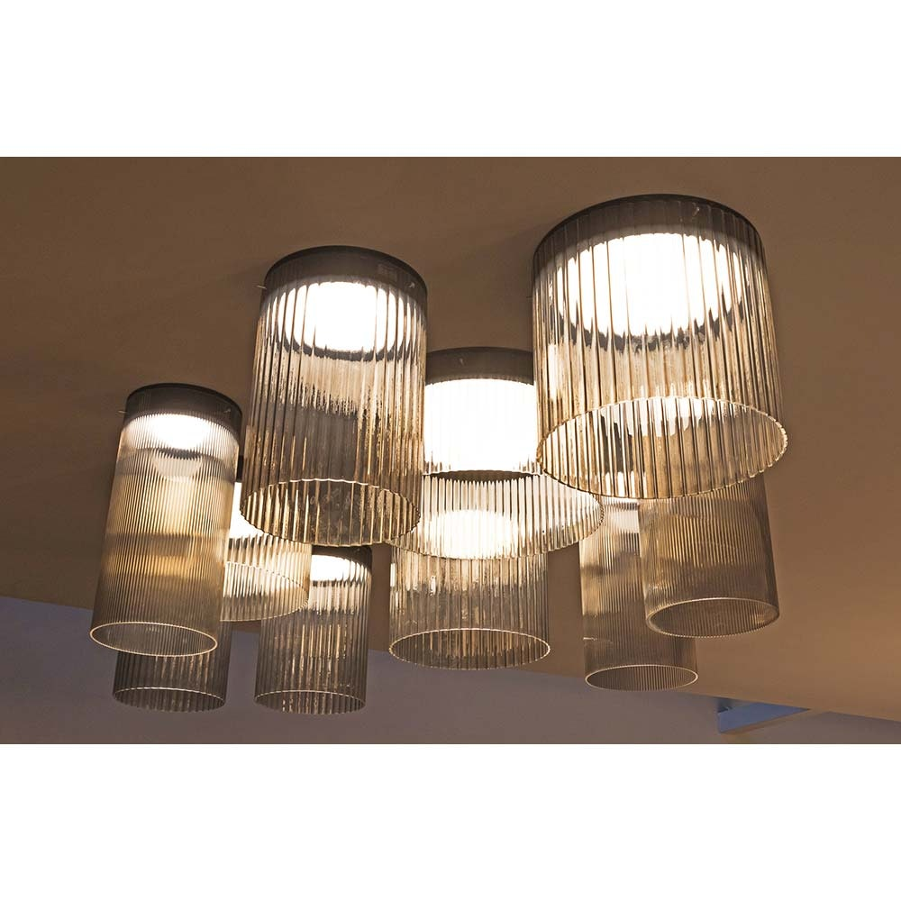 Kundalini LED Deckenlampe Giass Ø 30cm Dimmbar 5