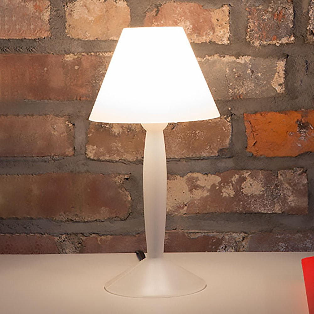FLOS Miss Sissi Tischlampe Weiß 3