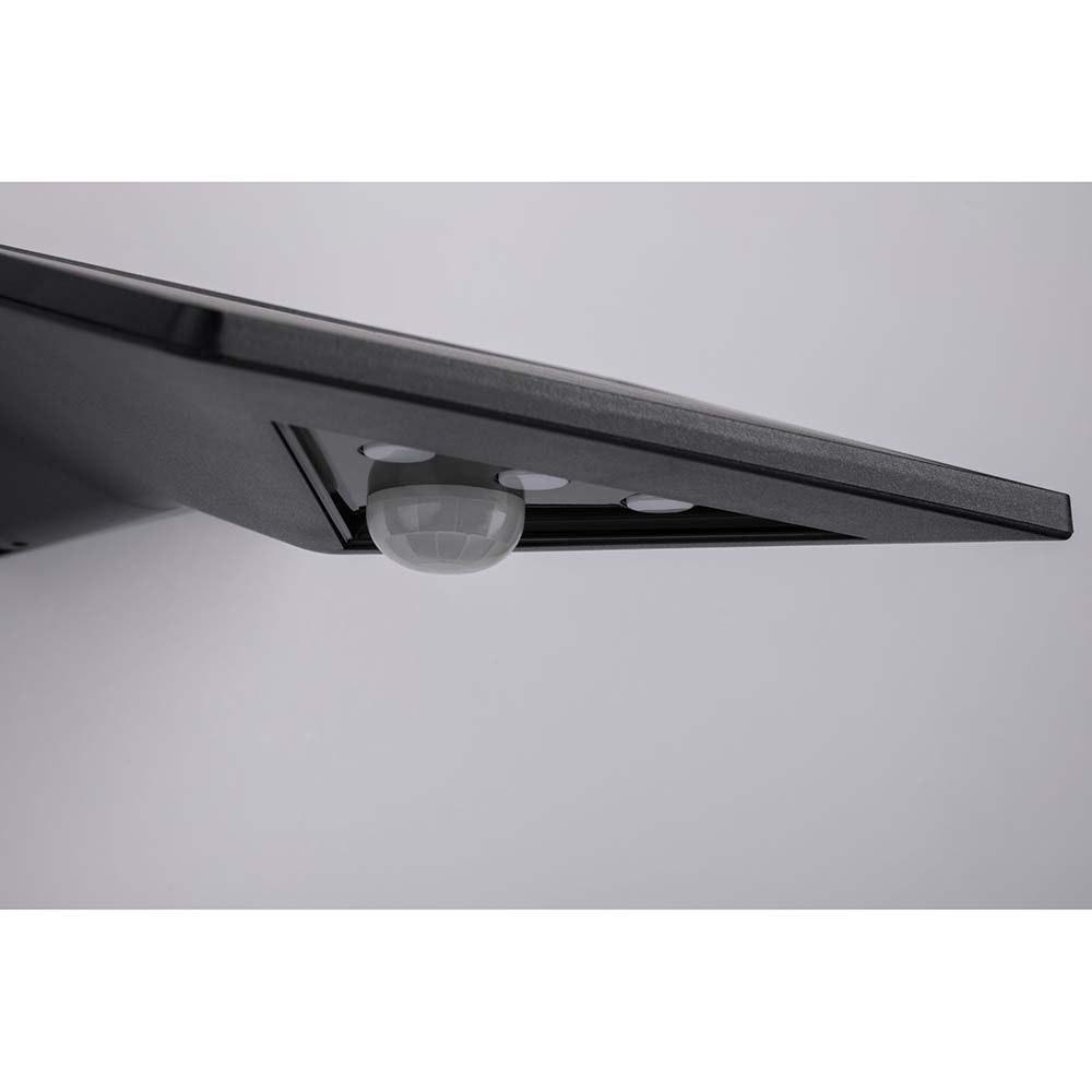 LED Wand-Solarleuchte Yoko mit Sensor IP44 3000K Anthrazit 6