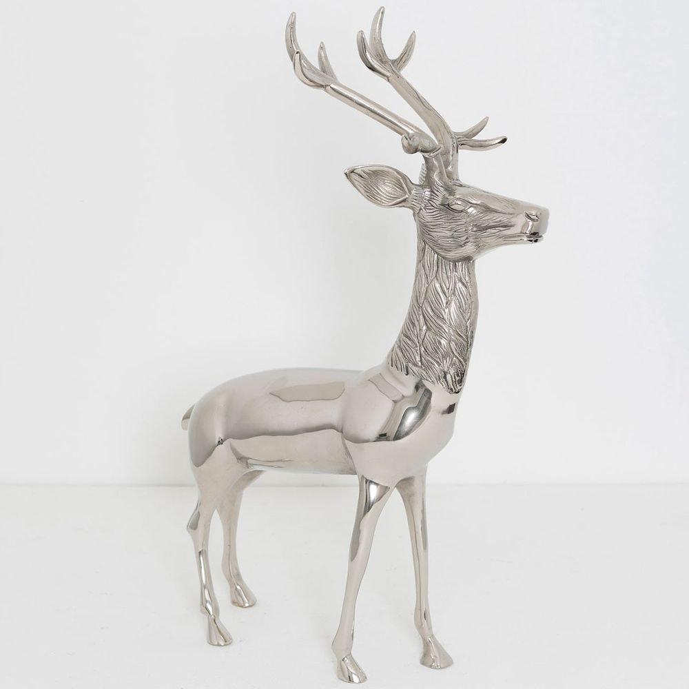 Hirsch Cervo Aluminium Silber 2