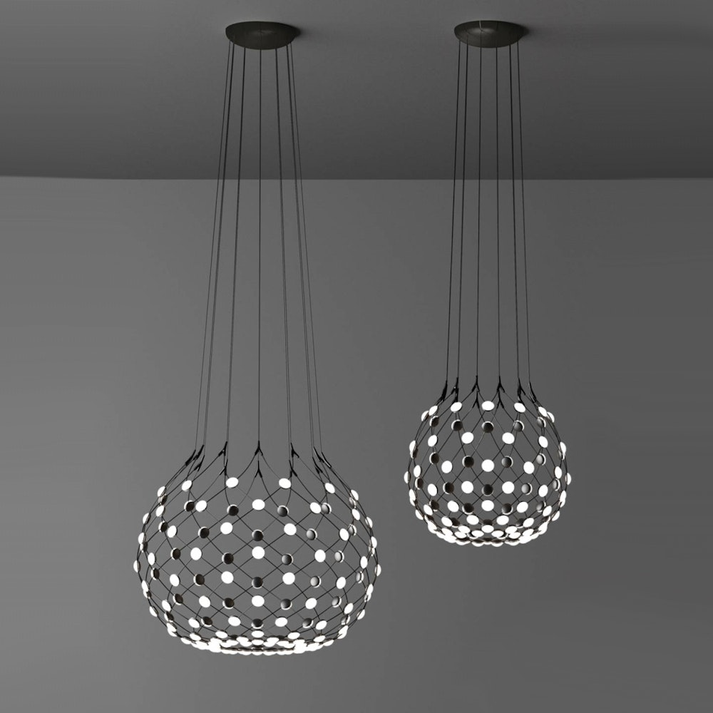 Luceplan LED Hängelampe Mesh Ø 55cm, max. 100cm thumbnail 5