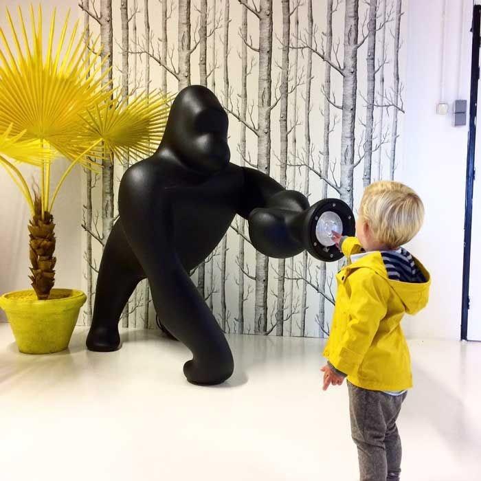Qeeboo Kong XL Bodenleuchte Gorilla 2