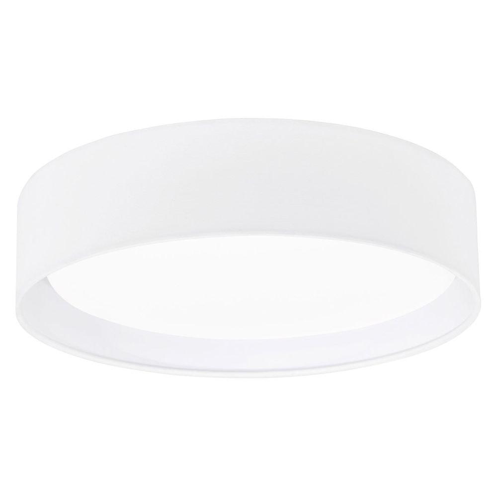 LED Textil Deckenleuchte Pasteri Ø 32cm Weiß 2