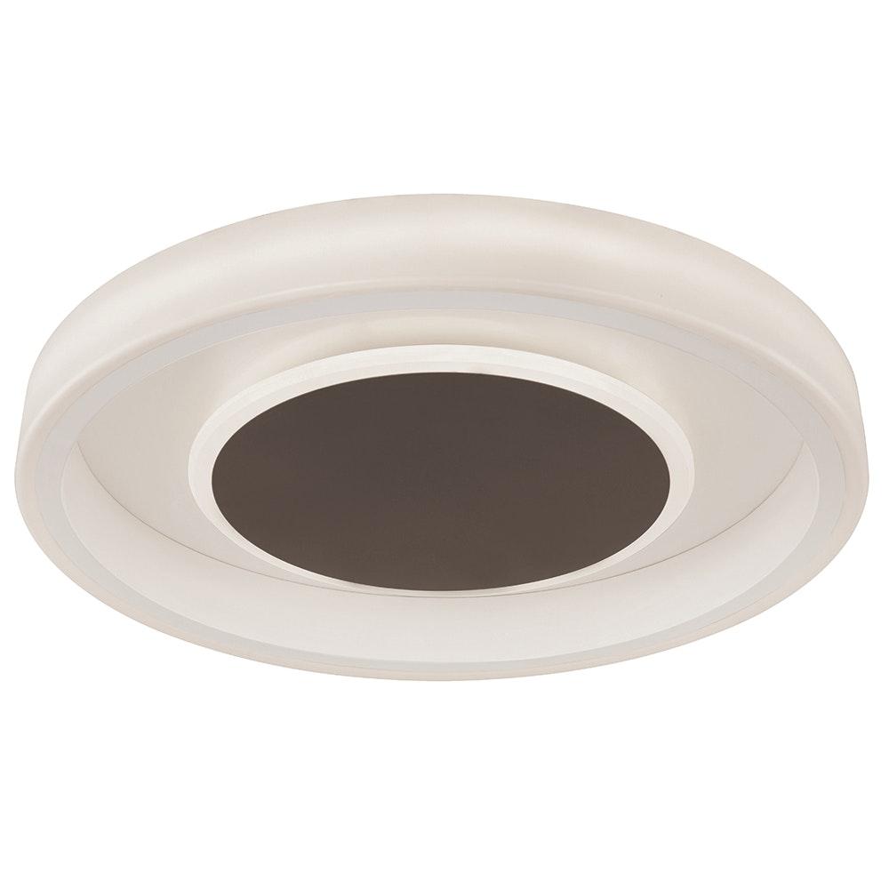 Mantra Moca LED-Deckenleuchte Weiß, Mokka 1