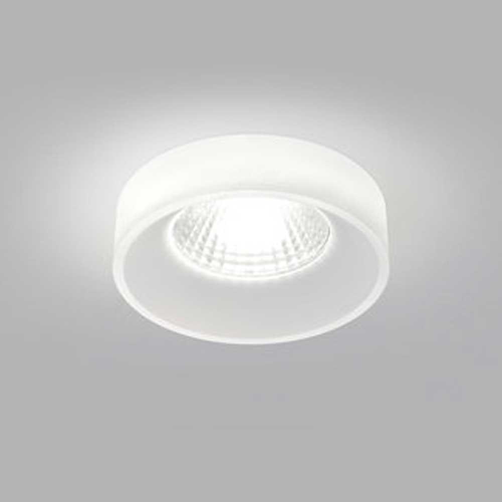 Helestra LED Decken-Einbauleuchte Iva Dimmbar satiniert IP44 1