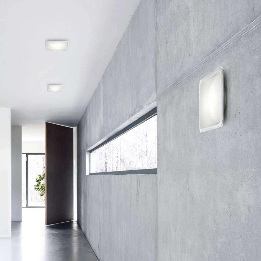Luceplan LED Wand- & Deckenleuchte Illusion 23x23cm thumbnail 6